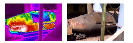 红外热像仪测温原理应用于鱼雷罐车