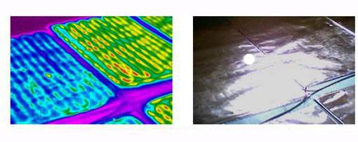 红外热像仪应用于地暖检测