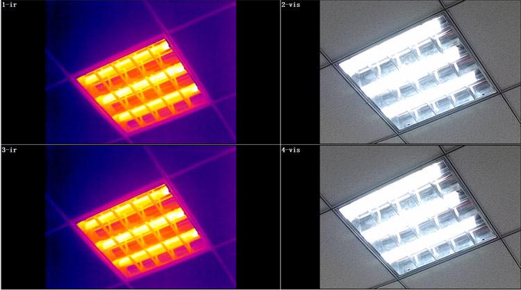 测温型双光谱红外热像仪介绍