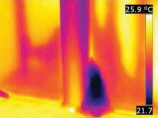红外热像仪能透视?