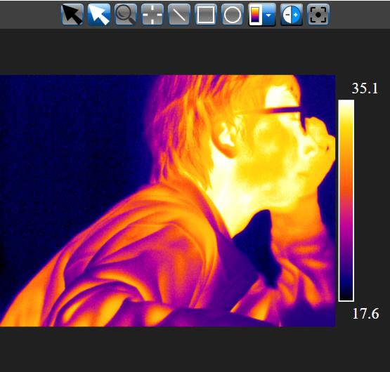影响红外热像仪测量精度的因素