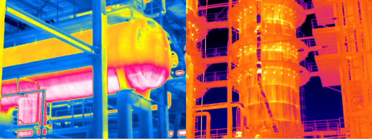 红外热像仪在石油化工领域的应用