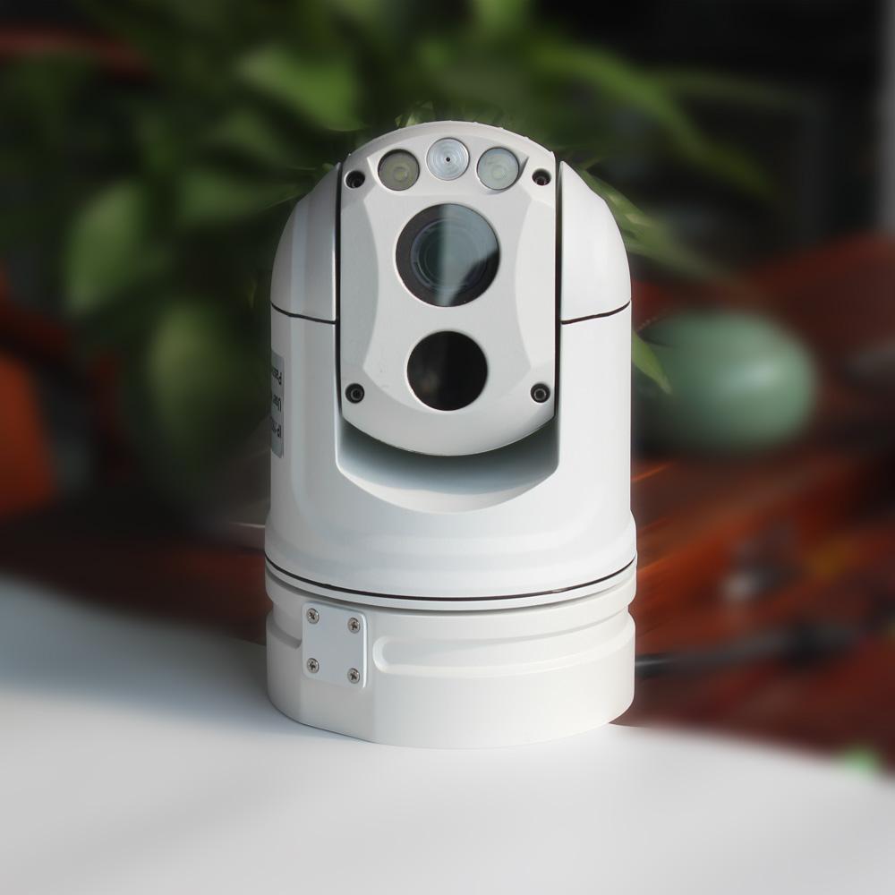 测温型热成像双光球型摄像机