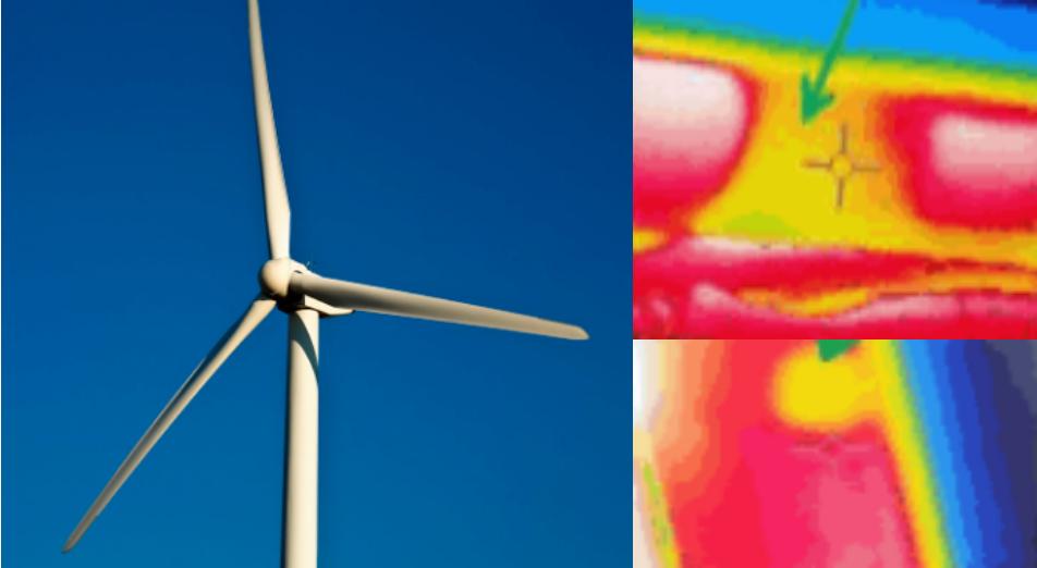 红外热像仪在风电叶片无损检测的应用