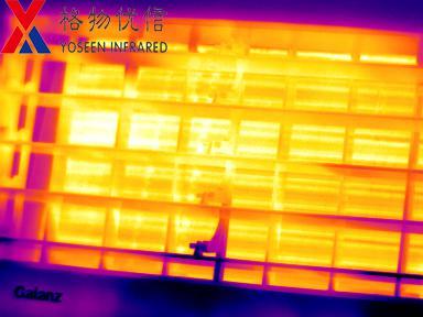 红外热像仪用于空调检测