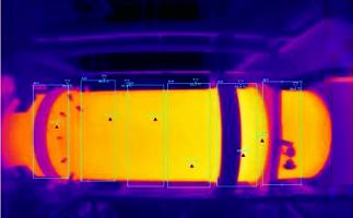运用红外热像仪监测回转窑内衬