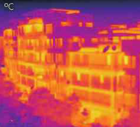 红外热像仪应用于建筑物保温性和节能性检测
