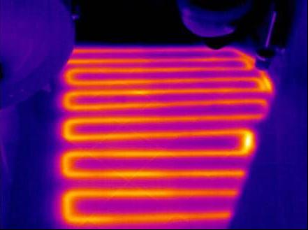 红外热像仪检测供暖设备故障