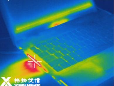 红外热像仪应用于笔记本性能检查