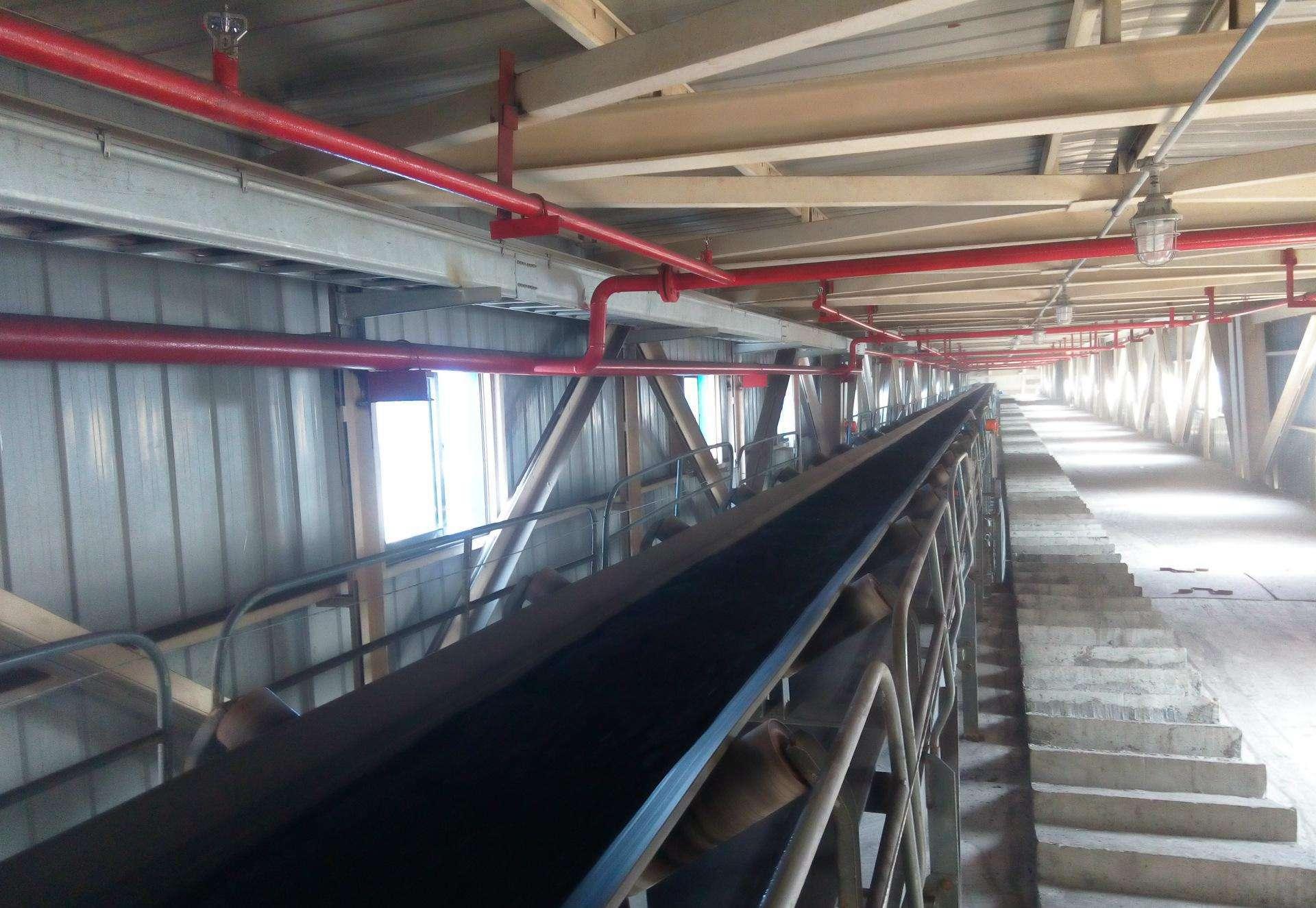 红外热像仪在线监测煤炭传送带