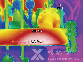 红外热像仪应用于乙炔泄漏监测
