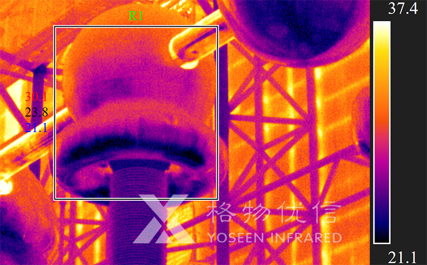 红外热像仪监测换流站