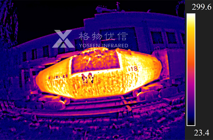 红外热像仪在钢铁行业中的几个重要应用