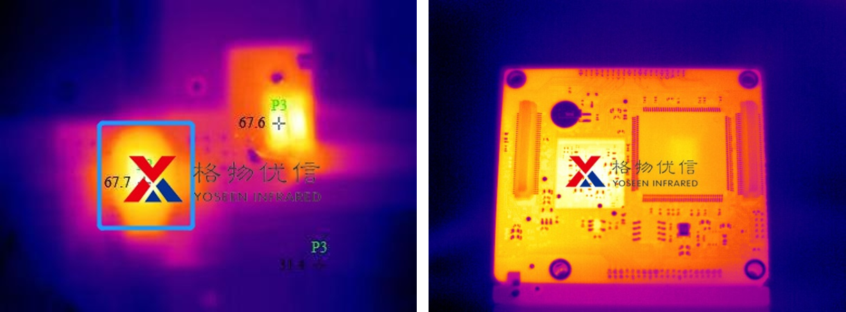 红外热像仪拍摄的虚化和探测距离问题