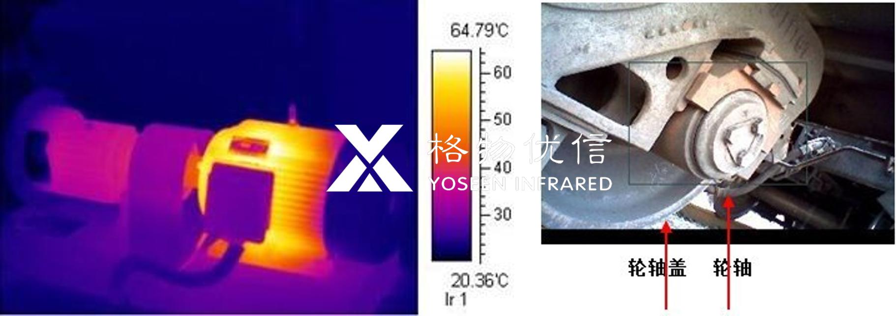 红外热像仪快速检测机车轮轴温度