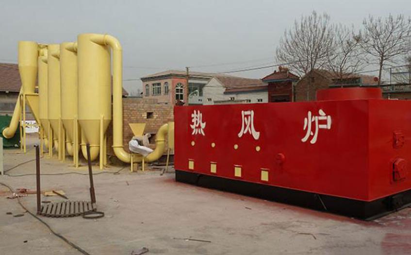 工业热风炉红外热像仪检测