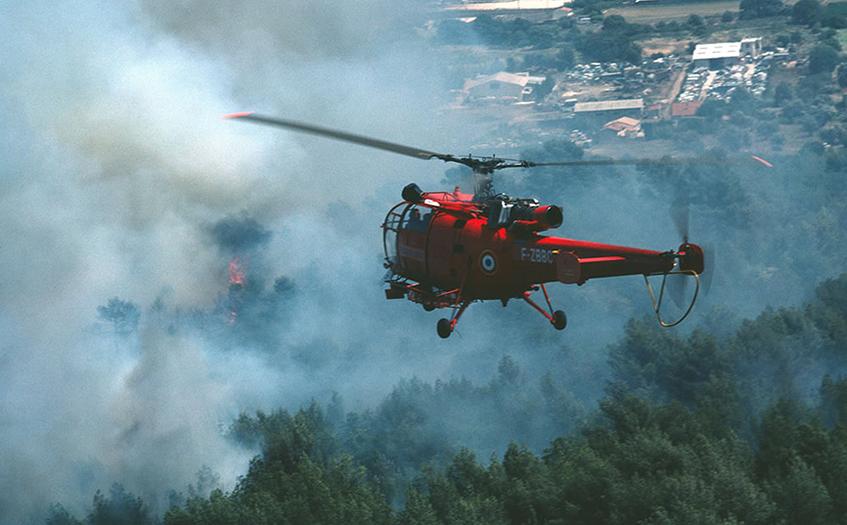 红外热成像森林防火监控系统
