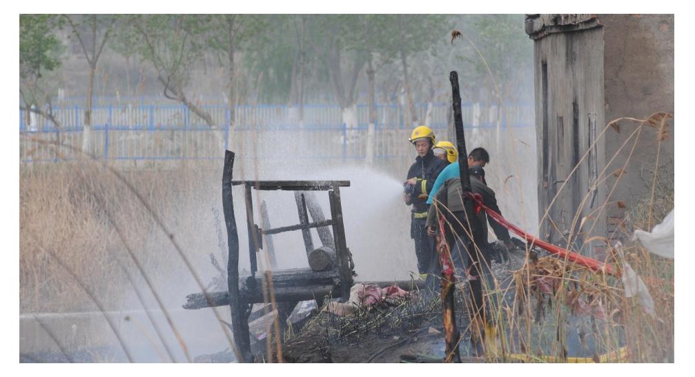 危废料坑红外热成像防火监控系统