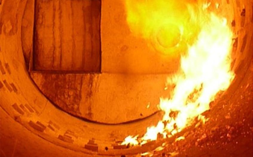 垃圾焚烧炉红外热像仪检测应用