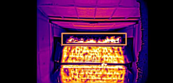 烧结机专用热成像测温监控系统(烧透比实时监控 )