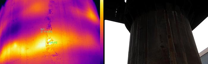 全面检测管道的好帮手-红外热像仪