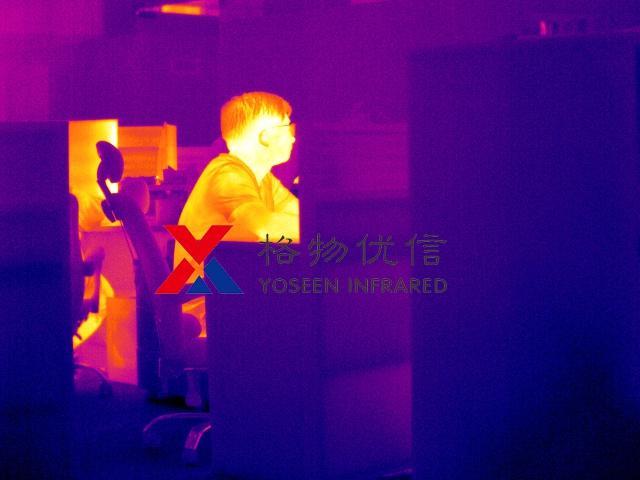 红外热像仪用于人体体温检测