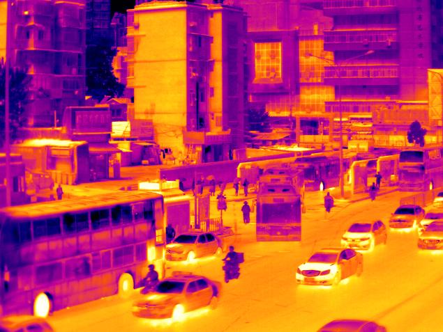 高速红外热像仪解决轨道交通测温问题