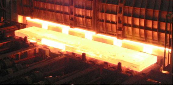钢坯加热红外监控
