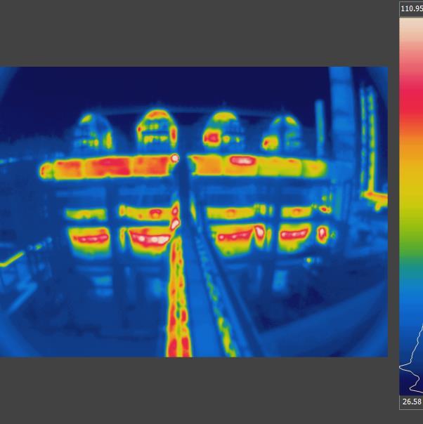 热风炉红外热像仪检测应用