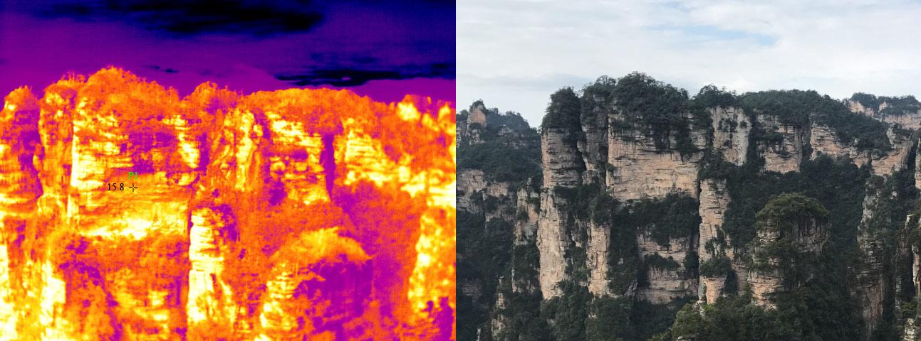 在自然灾害面前,红外热像仪能做什么?