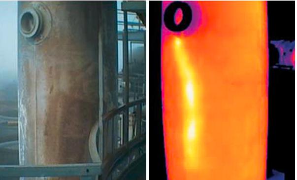 红外热像检测技术在热力管道泄漏检测中的应用