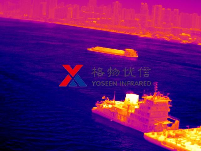 红外热像仪港口远距离监测成像