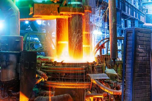 红外热像仪应用于冷/热轧钢、连铸、板坯等设备材料温度监控