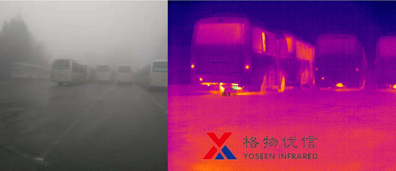 红外热像仪在雾霾等恶劣天气下的几大用途