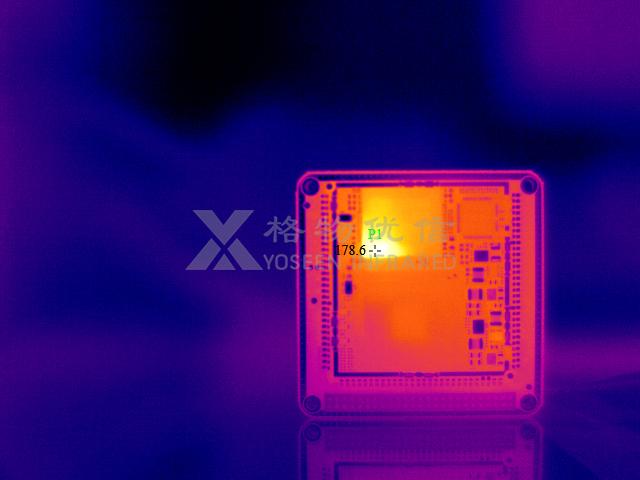 红外热像仪在LED芯片上去除光刻胶的应用
