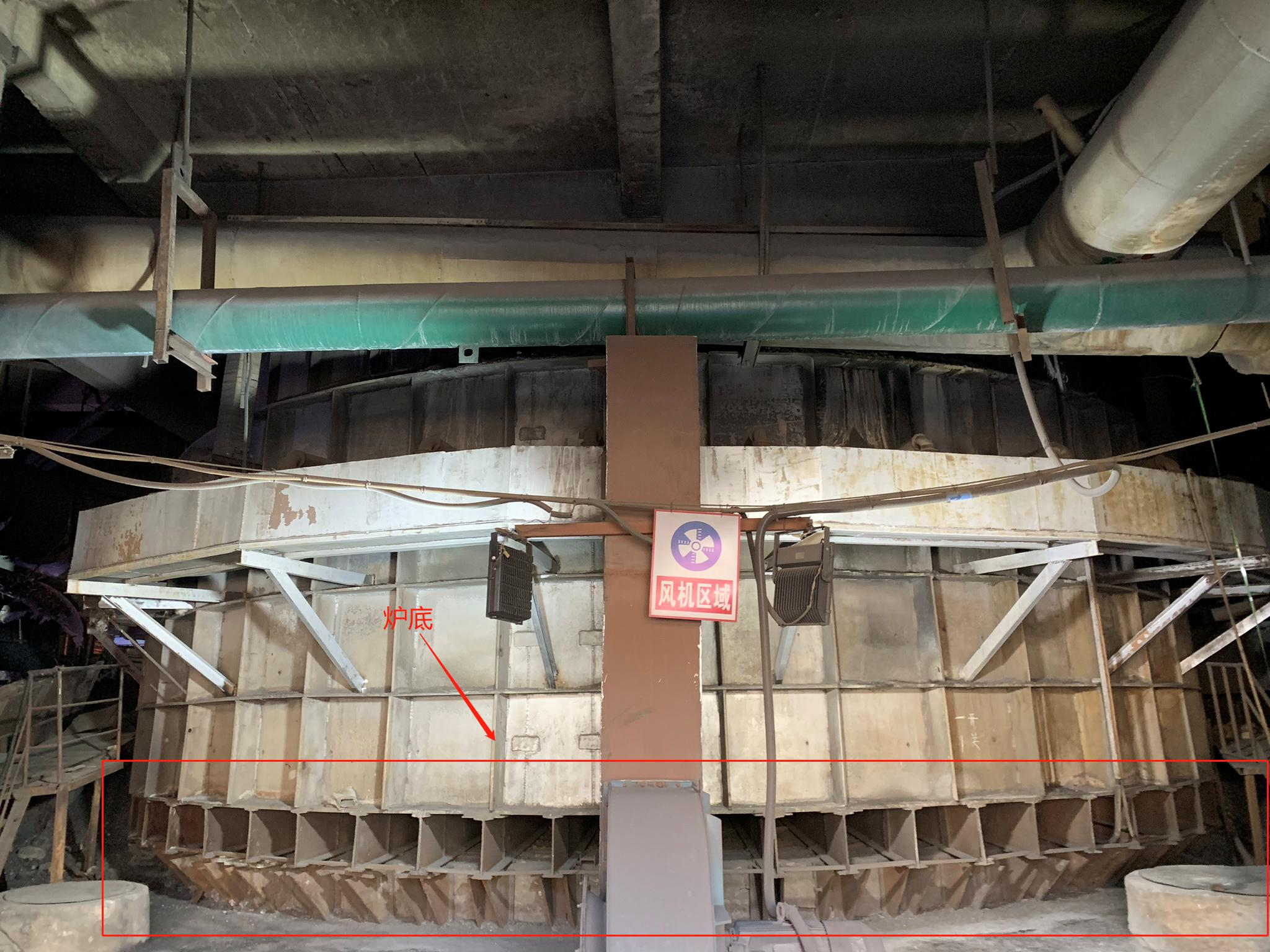 红外热像仪监控矿热炉炉壁