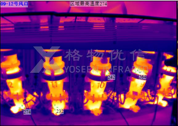 红外热像仪在高炉冷却壁检测上的应用