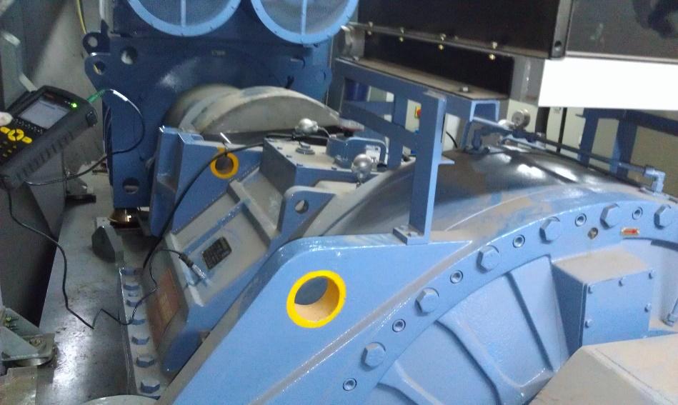 海上风力发电红外热成像监控系统