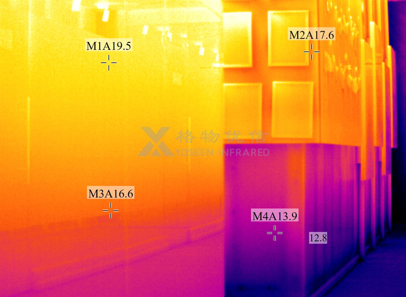 红外热像仪在建筑内墙和外墙的应用