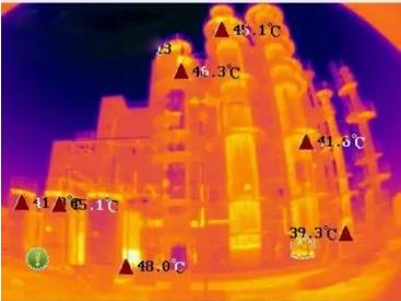 热成像仪监测双氧水反应应用