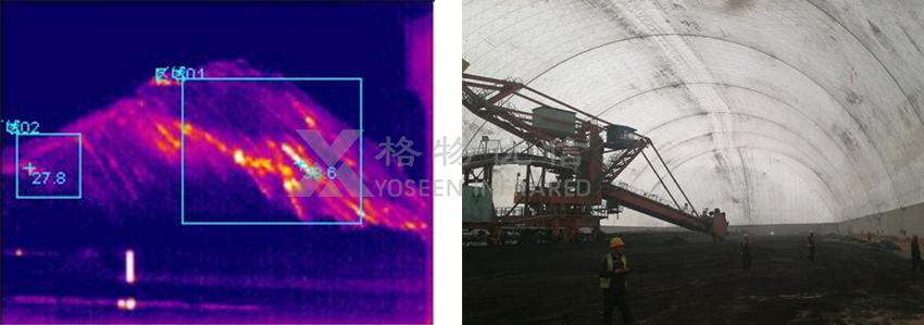 矿用本安型热像仪应用于煤矿掘进机等机器视觉