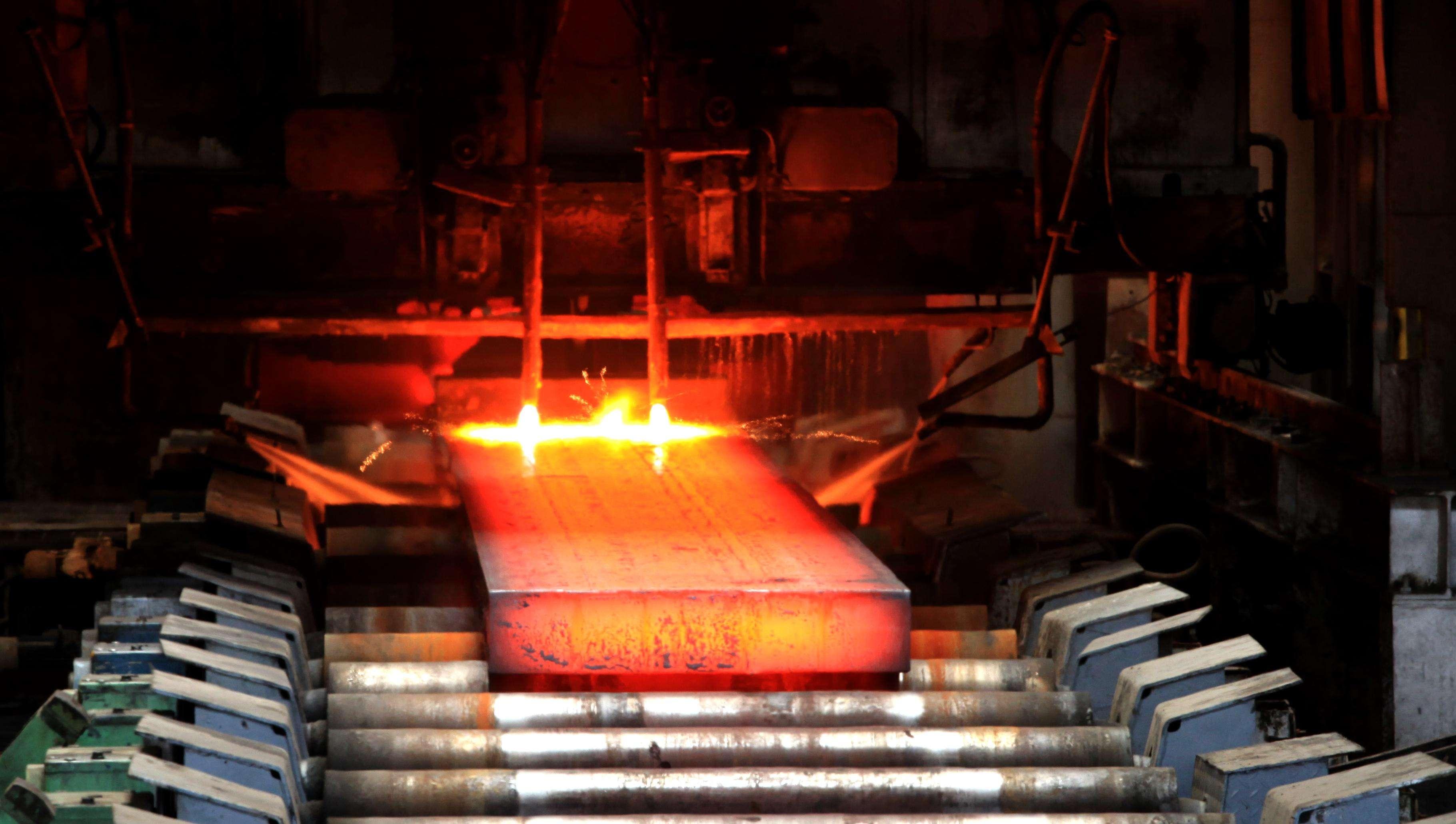 红外热像仪应用于板坯温度测定