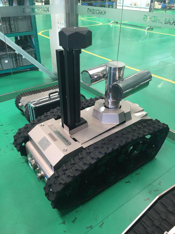 搭载红外热像仪的AI智能机器人助力电网铁路等行业降本增效