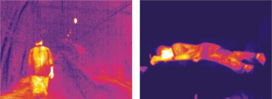 红外热成像技术应用于生命探测及救援