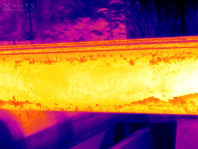 红外热成像仪检测管道泄漏温度的应用