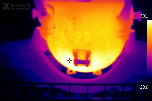 铁水罐热成像在线监测预警系统