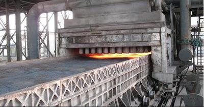 烧结机料面红外在线温度监测