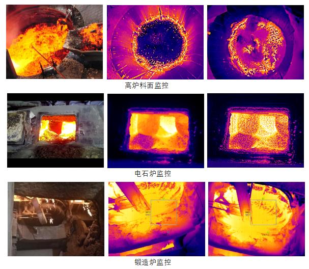 冶金专用红外热像仪