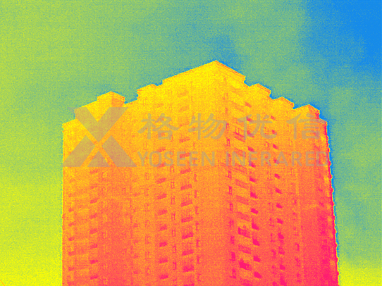 红外热像仪用于建筑维护检测