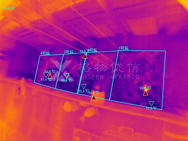 红外热像仪应用于有机垃圾料坑预警监测